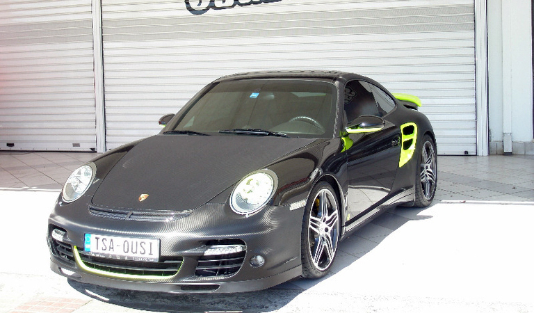 Βελτίωση εμφάνισης και επιδόσεων Porsche 997 Turbo